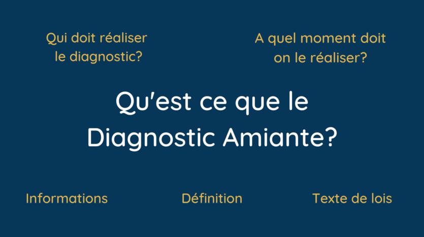 Qu'est ce que le diagnostic Amiante_