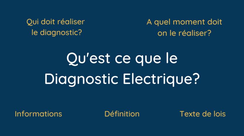 Qu'est ce que le diagnostic de perfoElectrique_