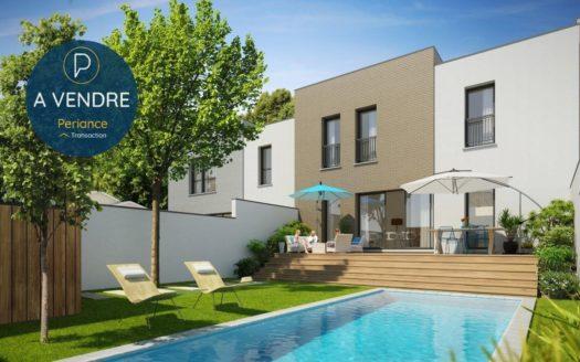 Maison Neuve à vendre rue dépé Bordeaux Cauderan