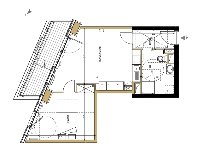 achat programme neuf appartement type 2 bordeaux euratlantique