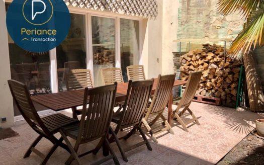 Terrasse - Maison à vendre Bordeaux Saint Genès