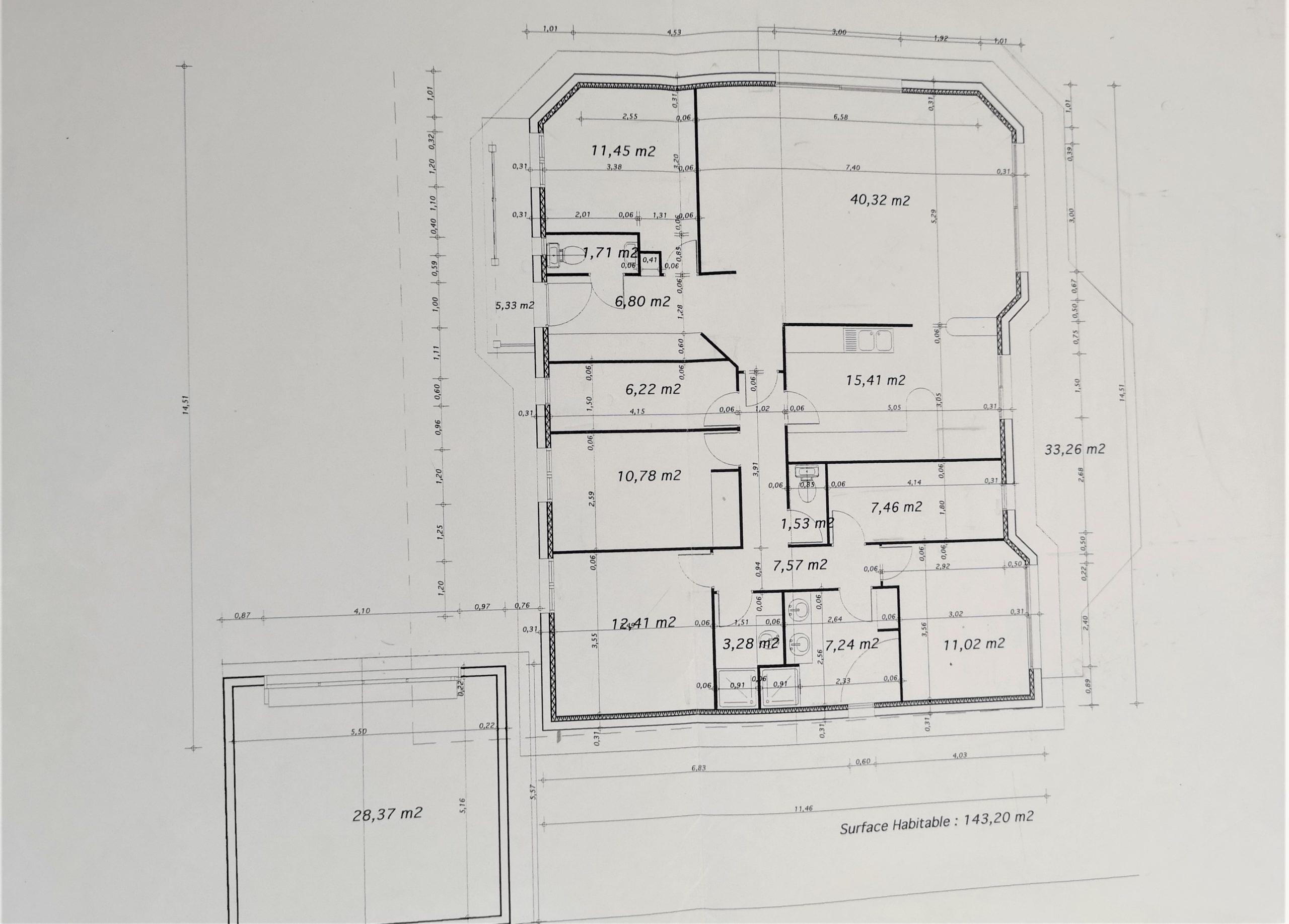 Plan Maison Mérignac Capeyron