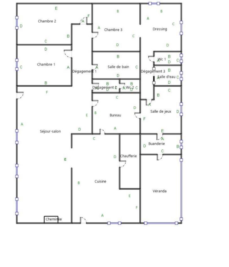 Plan Maison à vendre à Martillac