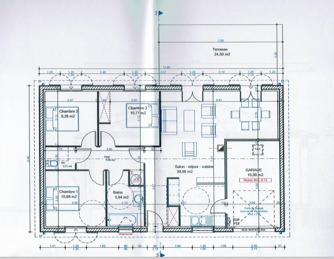 Plan Maison à vendre Saint Loubes