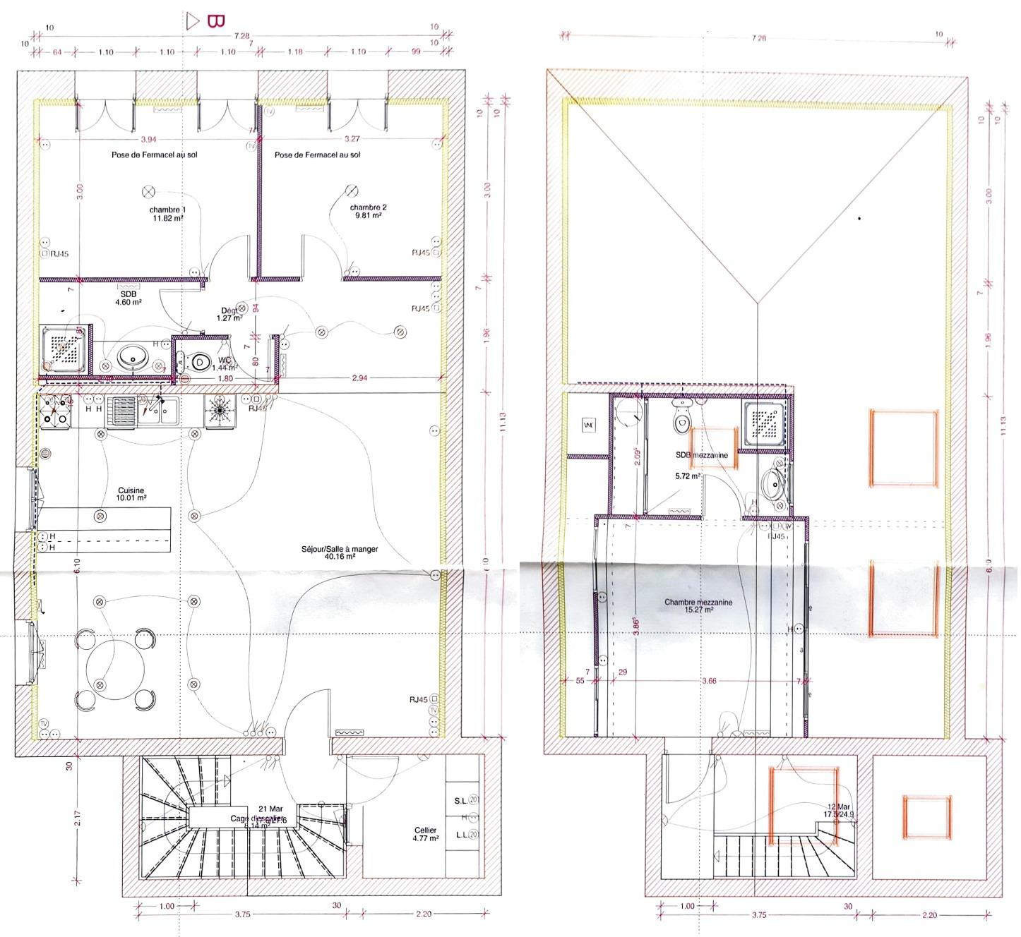 Appartement T4 à vendre Bordeaux Nansouty