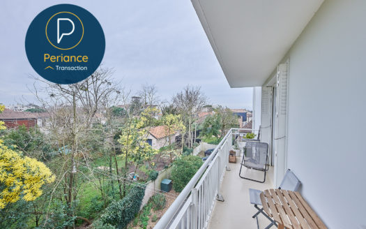 Balcon- Appartement T3 à vendre Bordeaux Caudéran