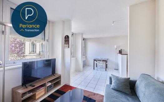 Séjour 3 - Appartement T2 bis à vendre Bordeaux Chartrons