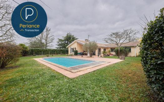 Piscine - Maison à vendre à Saint Medard en Jalles