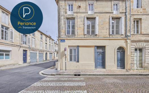 Façade - Immeuble à vendre Bordeaux Jardin Public / Chartrons