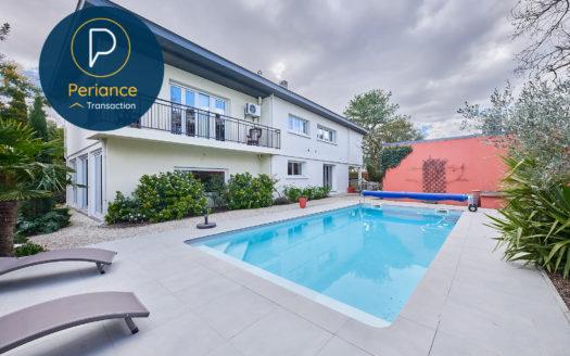 Piscine - Maison T8 à vendre Bordeaux Caudéran avec piscine, jardin et garage