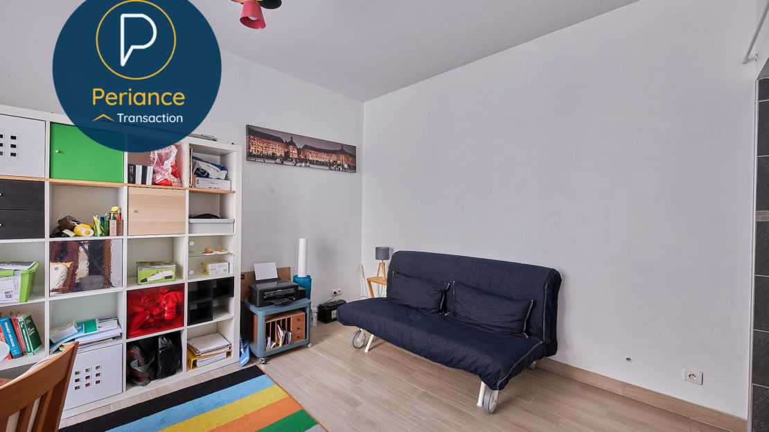 Chambre RDC 2 - Maison avec terrasse à vendre Bordeaux Jardin Public / Chartrons