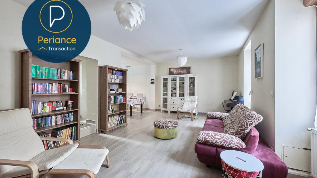 Salon - Maison avec terrasse à vendre Bordeaux Jardin Public / Chartrons