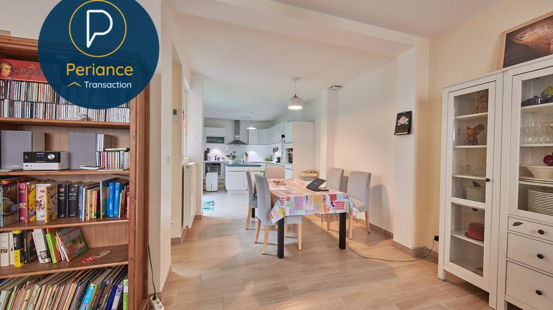 Salle à manger 2 - Maison avec terrasse à vendre Bordeaux Jardin Public / Chartrons