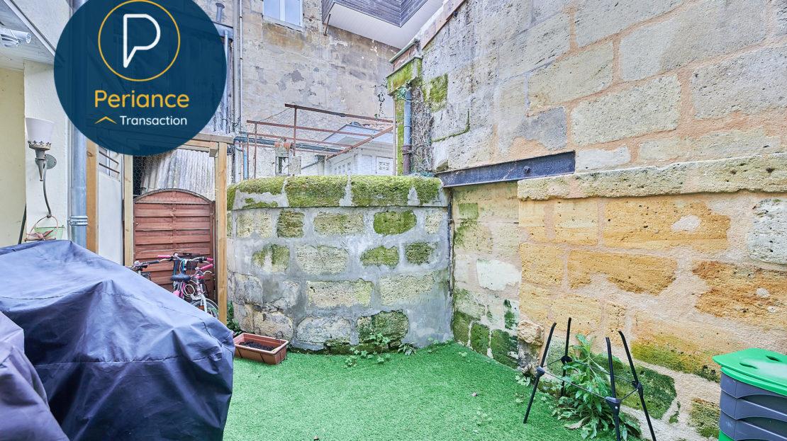 Terrasse 2 - Maison avec terrasse à vendre Bordeaux Jardin Public / Chartrons