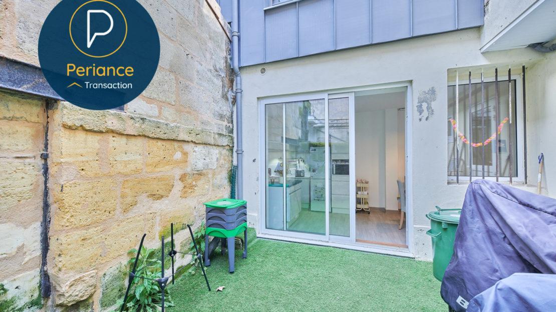 Terrasse - Maison avec terrasse à vendre Bordeaux Jardin Public / Chartrons
