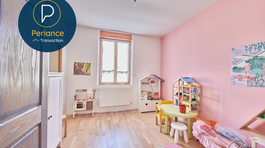 Chambre 3 - Maison avec terrasse à vendre Bordeaux Jardin Public / Chartrons