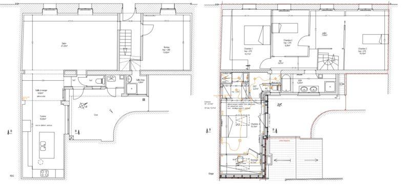 Bordeaux Jardin Public : Maison 155m² avec terrasse