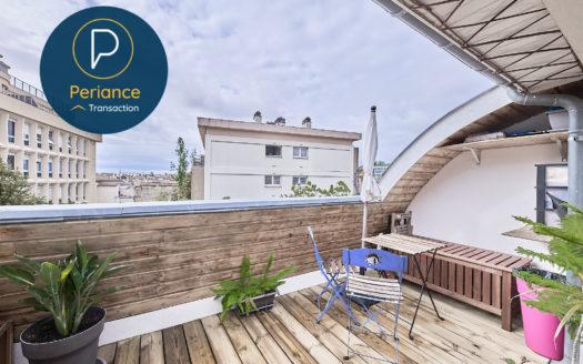 Terrasse - Appartement T3 à vendre Bordeaux Grand Parc / Chartrons