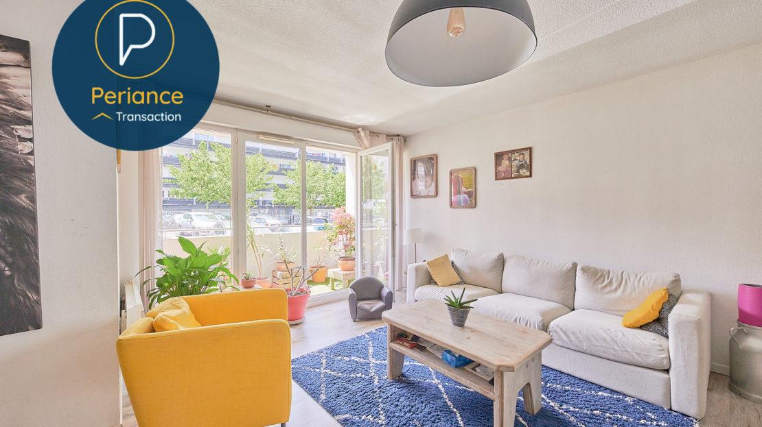 salon - Appartement T4 à vendre à Lormont