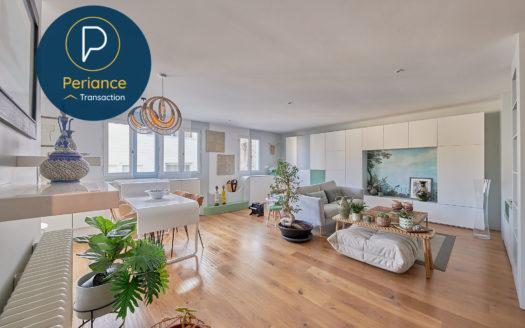 Séjour 3 - Appartement T3 à vendre Bordeaux Cœur Chartrons