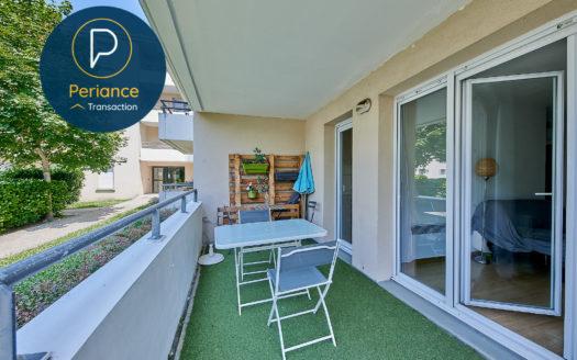 Terrasse - Appartement T3 Bordeaux Ravezies