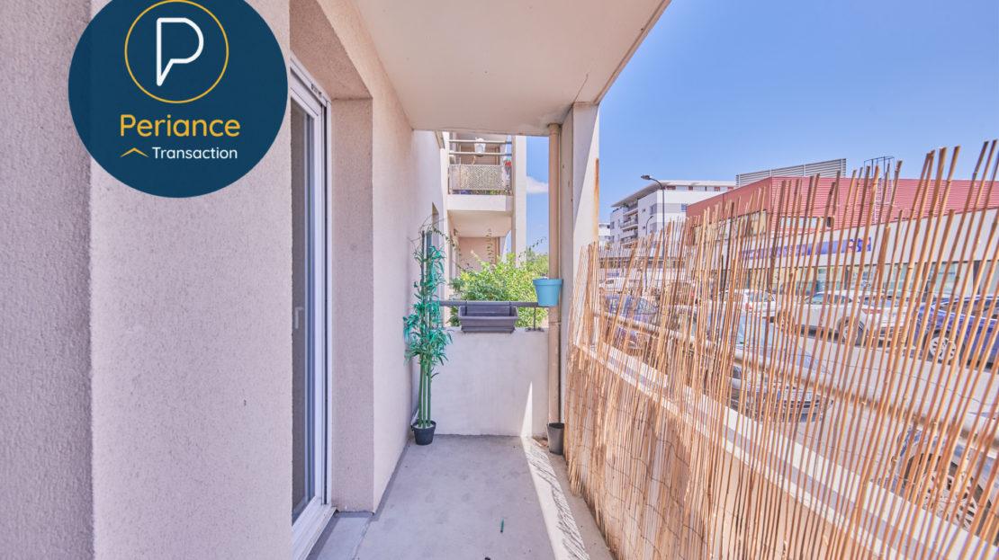 Balcon 2 - Appartement T3 Bordeaux Ravezies