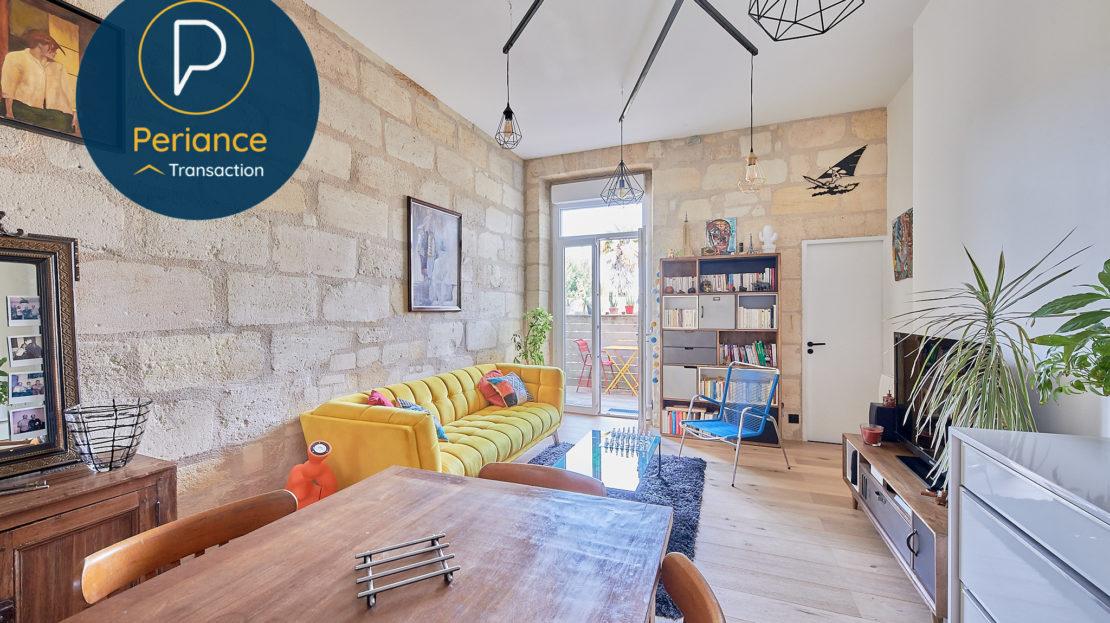 séjour 3 - Appartement T3 à vendre à Bordeaux