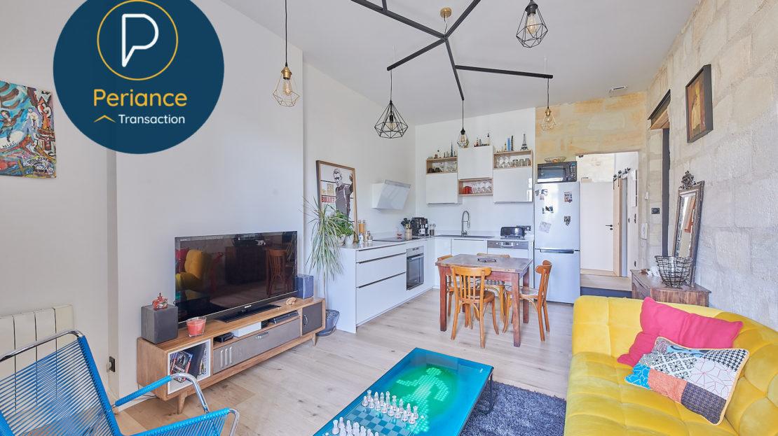 Séjour 4 - Appartement T3 à vendre à Bordeaux
