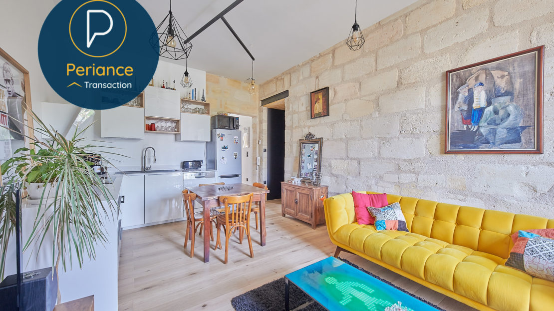 Séjour 5 - Appartement T3 à vendre à Bordeaux