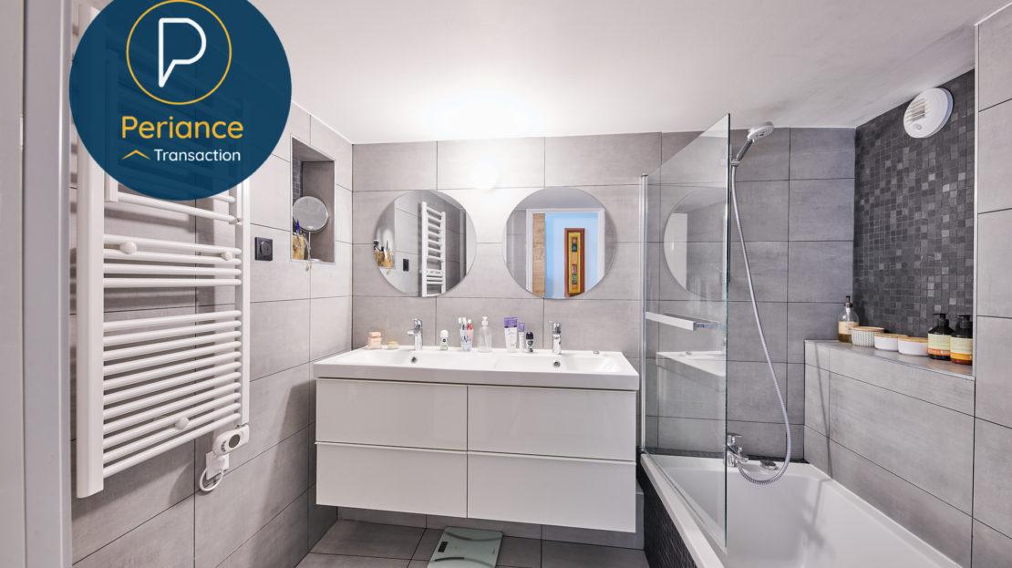 salle de bains - Appartement T3 à vendre à Bordeaux