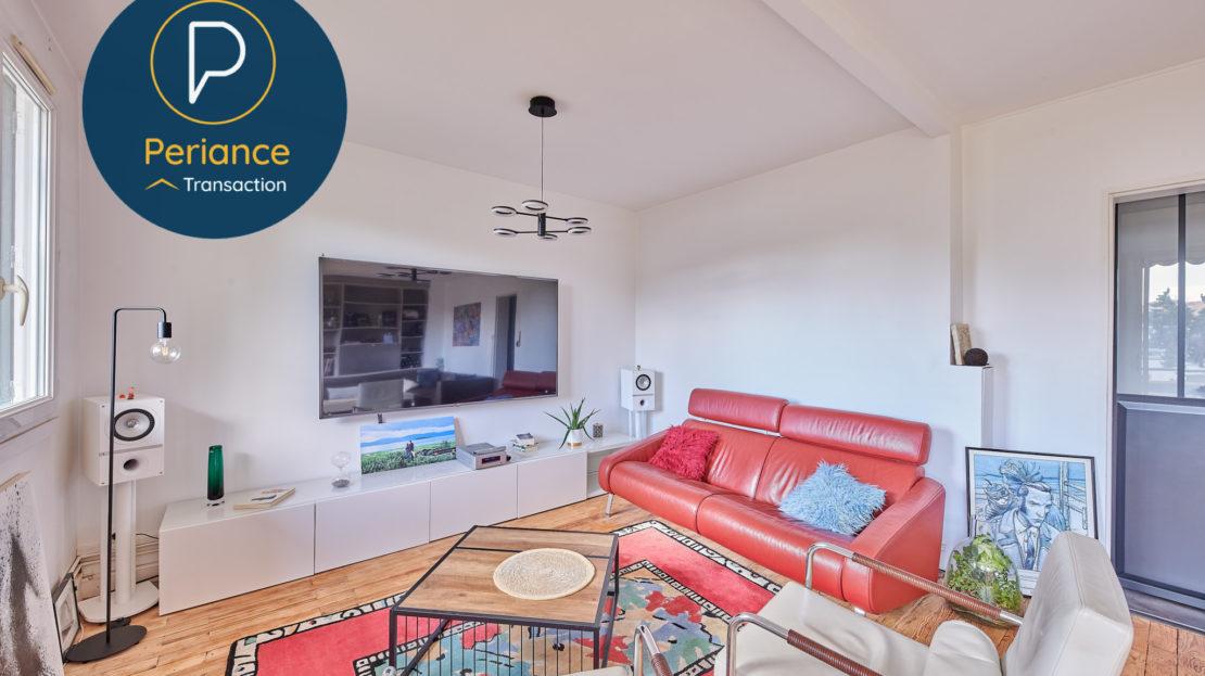 Séjour 3 - Appartement T3 à vendre à Mérignac Centre / Pin Galant
