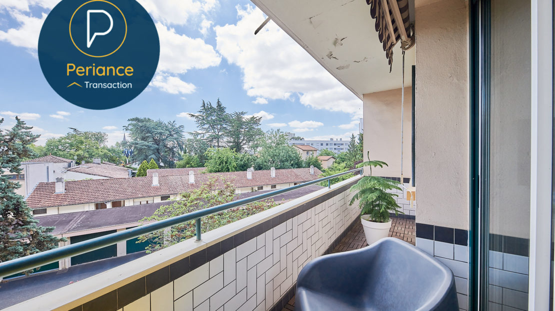 Balcon 2 - Appartement T3 à vendre à Mérignac Centre / Pin Galant