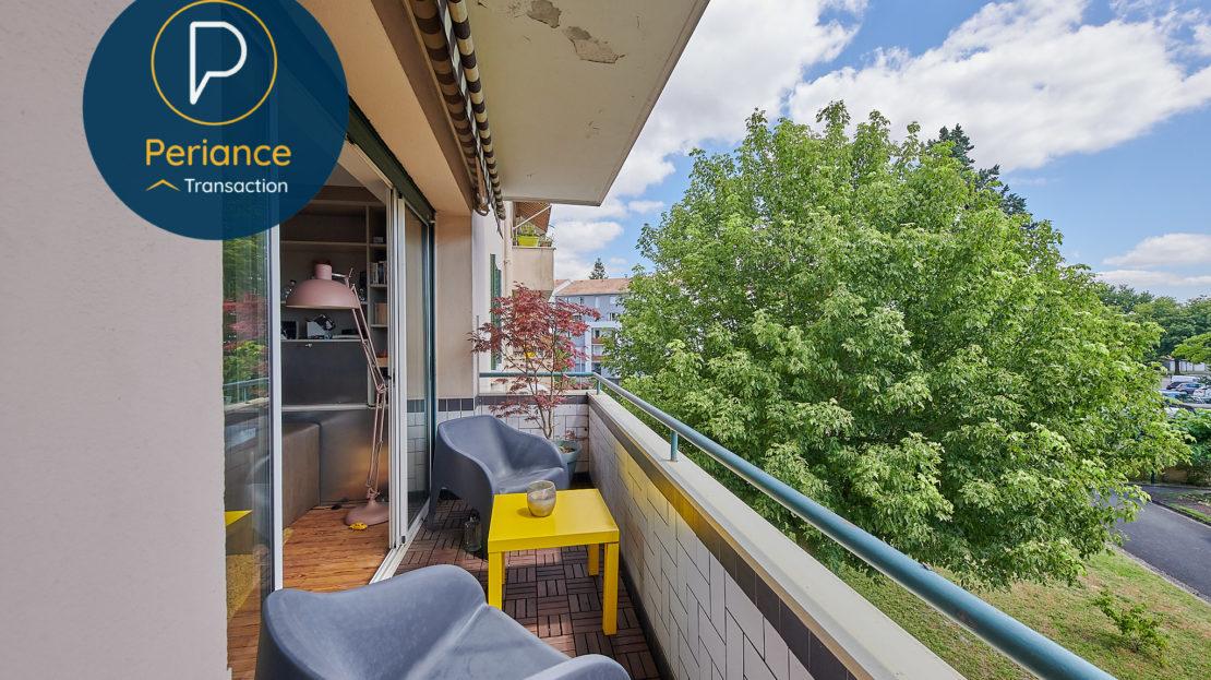Balcon - Appartement T3 à vendre à Mérignac Centre / Pin Galant