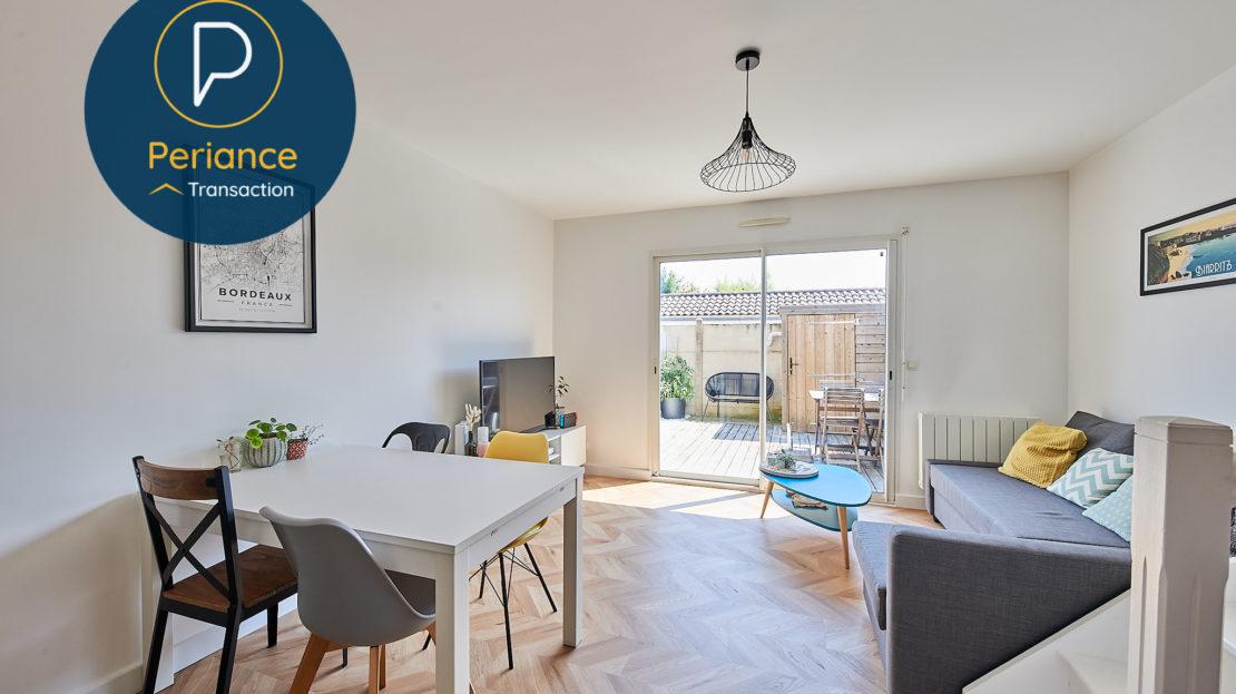 Séjour - Maison à vendre à Mérignac avec terrasse