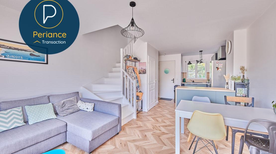 Séjour 2 - Maison à vendre à Mérignac avec terrasse
