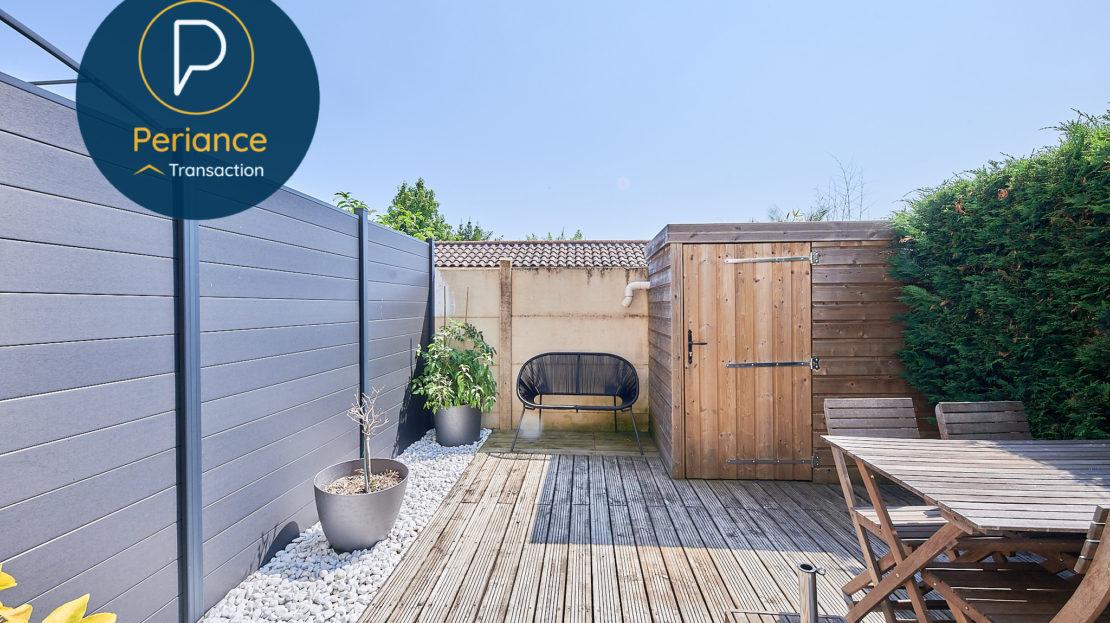 TERRASSE 2 - Maison à vendre à Mérignac avec terrasse