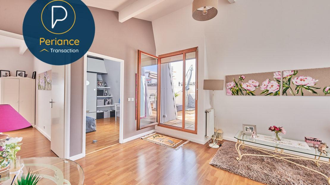 ETAGE 3 - Appartement à vendre Bordeaux Belcier