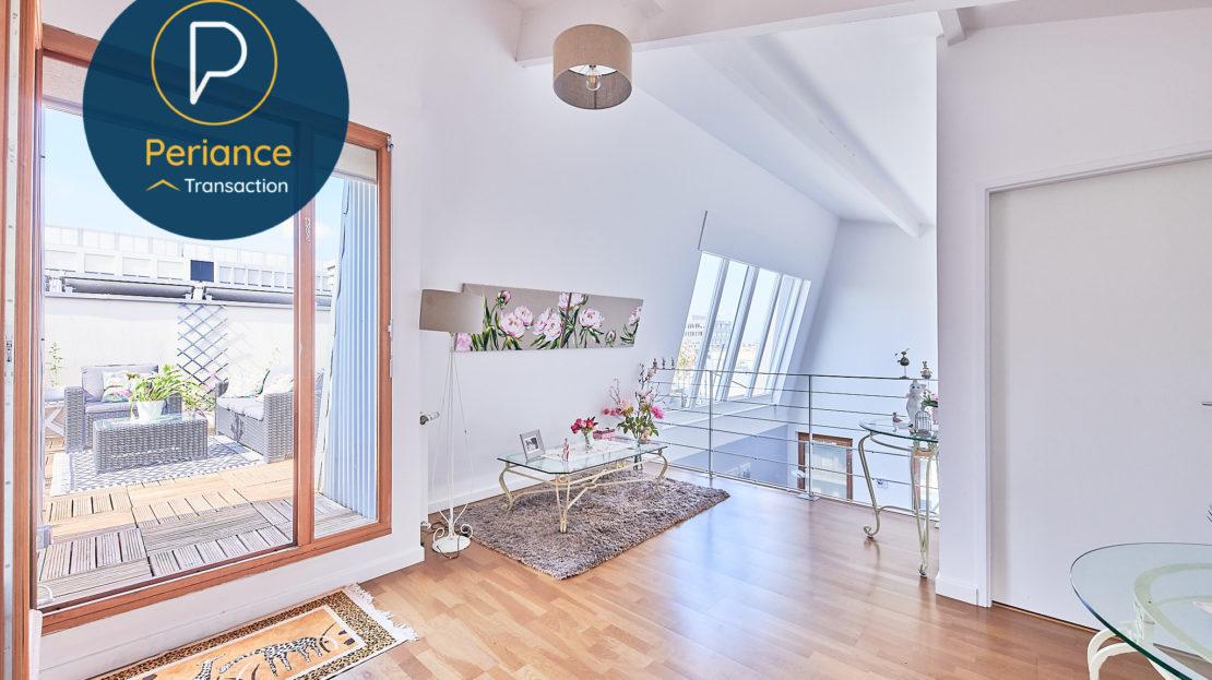 ETAGE - Appartement à vendre Bordeaux Belcier