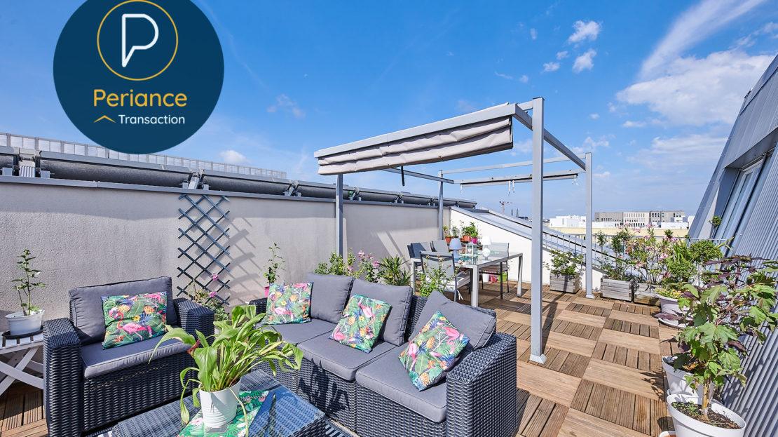 TERRASSE 4 - Appartement à vendre Bordeaux Belcier