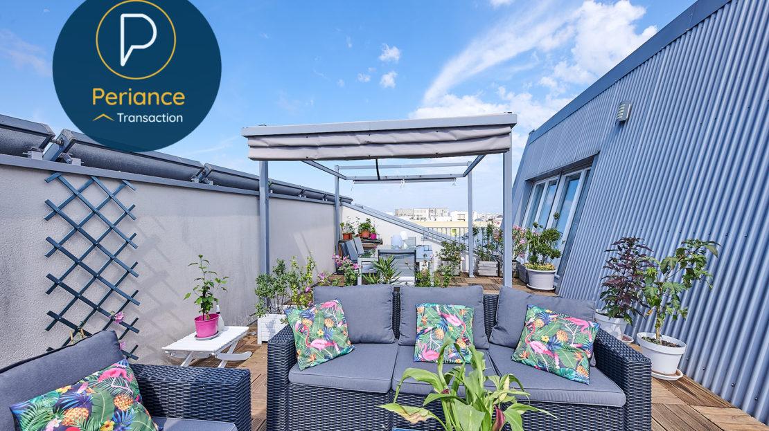 TERRASSE 3 - Appartement à vendre Bordeaux Belcier