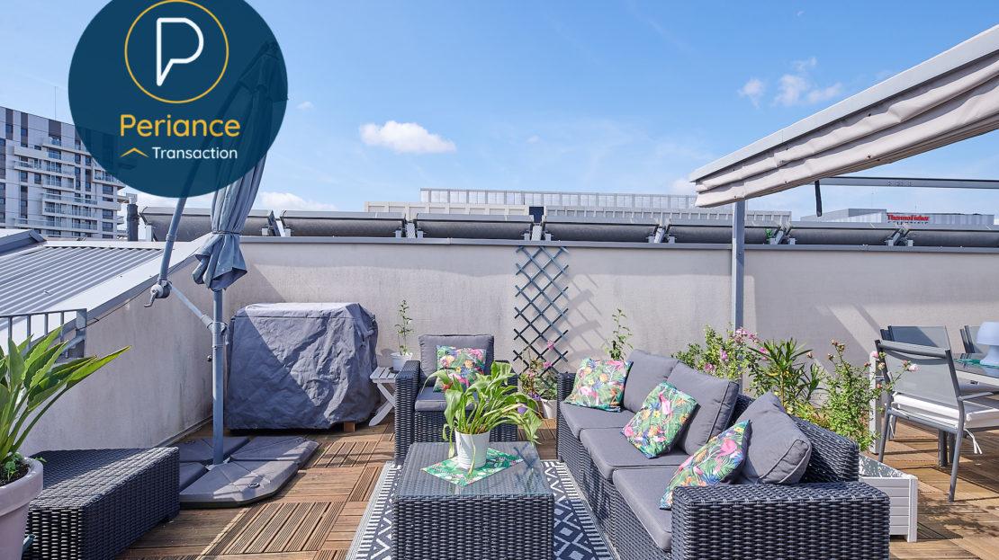 TERRASSE 2 - Appartement à vendre Bordeaux Belcier