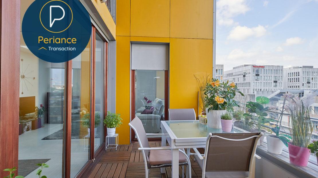 terrasse - Appartement à vendre Bordeaux Belcier