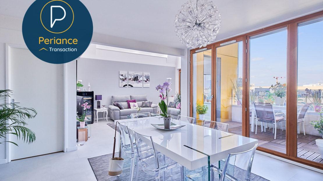 Séjour 5 - Appartement à vendre Bordeaux Belcier
