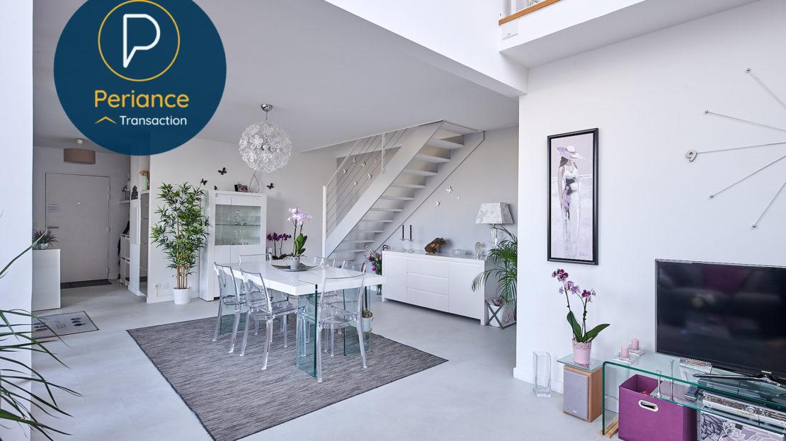 séjour 3 - Appartement à vendre Bordeaux Belcier