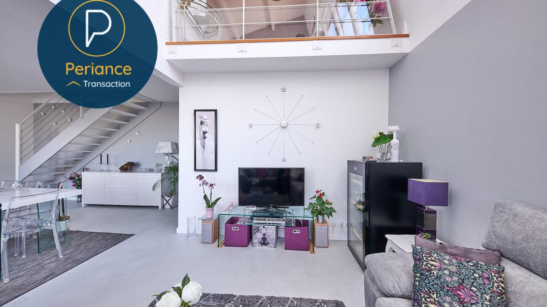 séjour 2 - Appartement à vendre Bordeaux Belcier