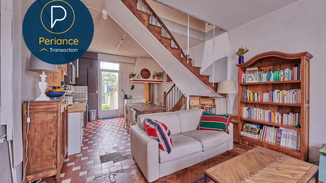 SALON 3 - Maison avec jardin à vendre Bordeaux Bacalan