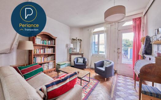 SALON - Maison avec jardin à vendre Bordeaux Bacalan
