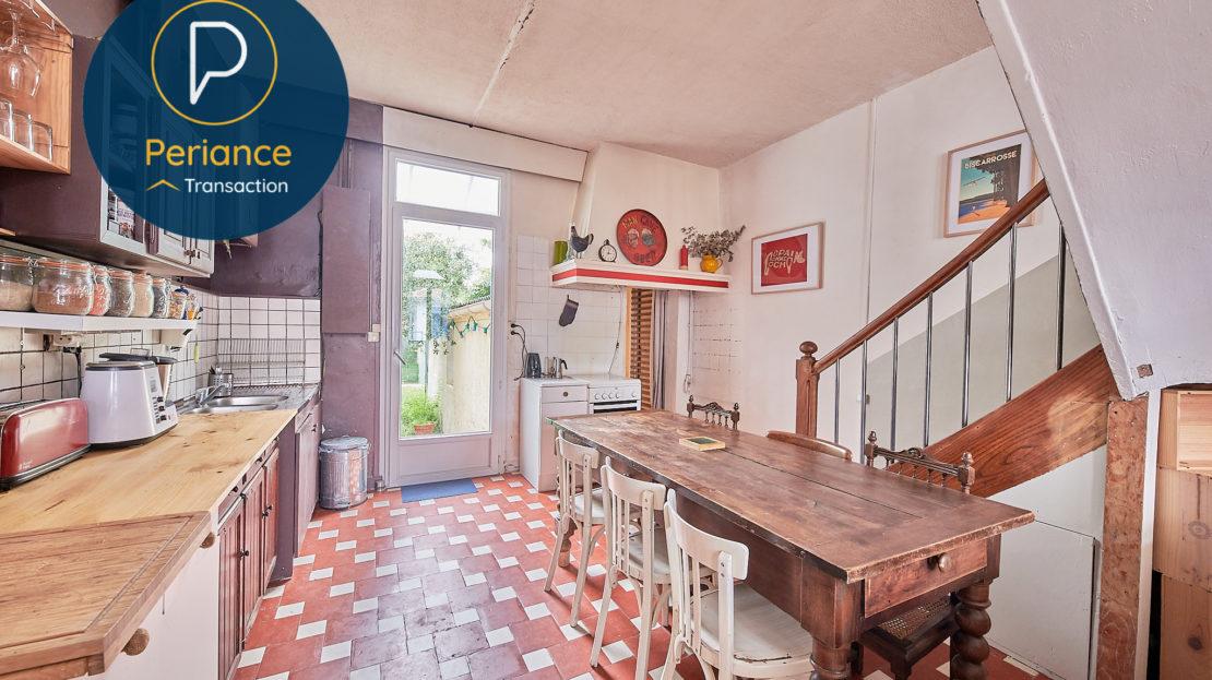 CUISINE 2 - Maison avec jardin à vendre Bordeaux Bacalan