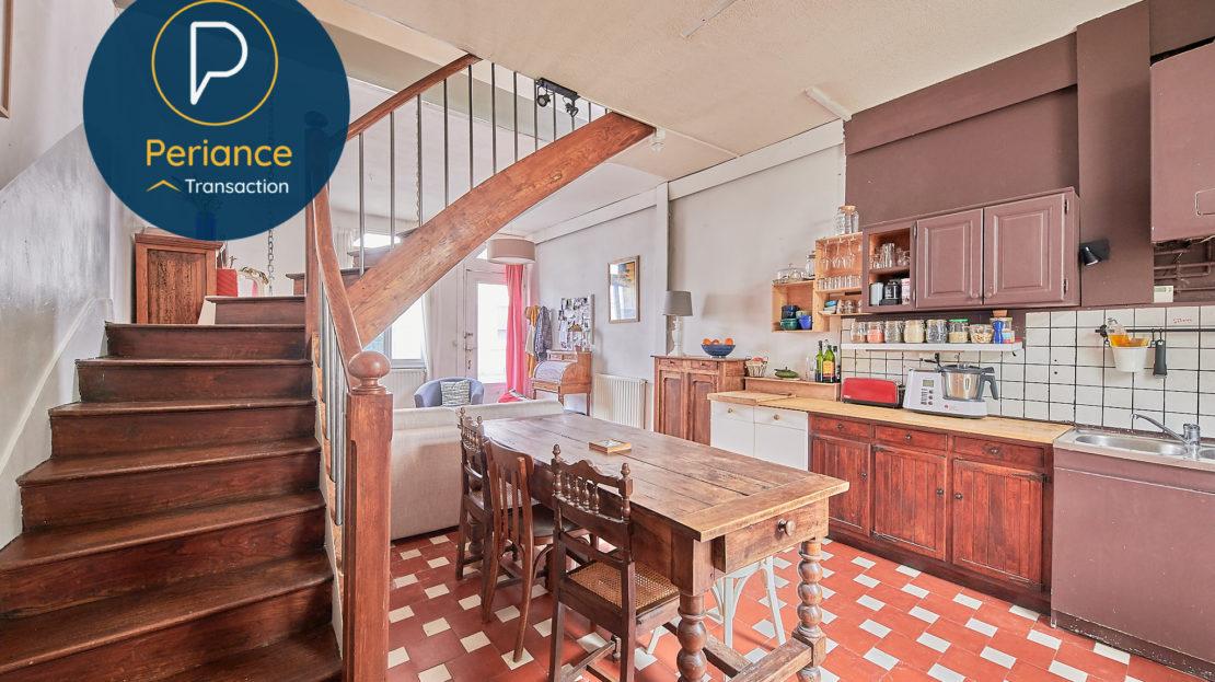 CUISINE - Maison avec jardin à vendre Bordeaux Bacalan