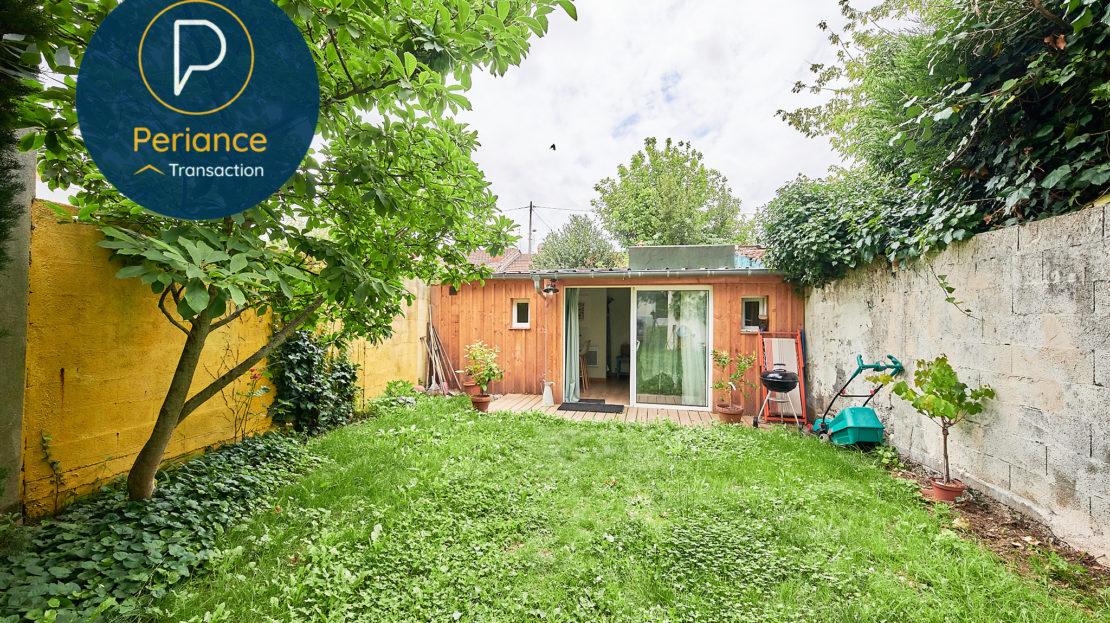 JARDIN 4 - Maison avec jardin à vendre Bordeaux Bacalan